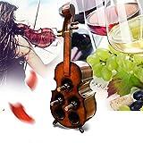 Weinregal JUN Europäische Retro-Geige Große kreative Bar Wein Altar