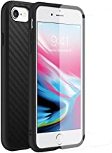 RhinoShield Full Impact Protection Case for [ iPhone 8/7 ], Military Grade Drop Protection, Slim, Scratch Resistant - Carbon Fiber Texture [Special Bundle with Screen Protector]