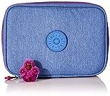 Kipling 100 PENS Estuche Grande, Azul (Dew Azule)