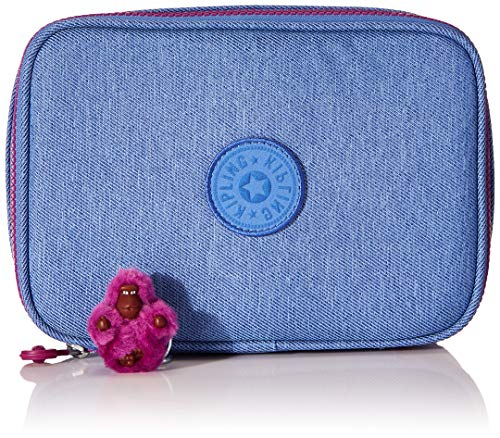 Estojo Kipling 100 Pens Dew Blue