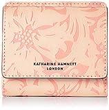[キャサリンハムネット ロンドン] 財布 二つ折り ミニ財布 ナデシコ KHP437 サーモンピンク