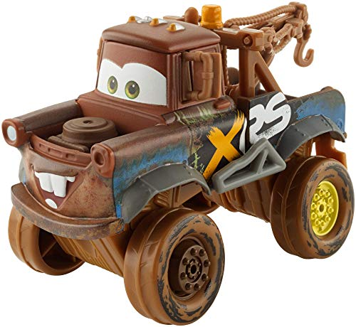 Disney Cars XRS Mud Racing Cricchetto, Veicolo Die-cast, Giocattolo per Bambini 3+ Anni, GBJ47
