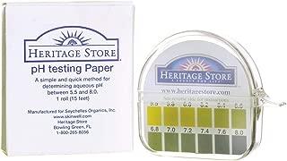 PH Testing Paper 15' 180 Uses Heritage Store 1 Box