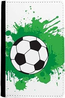 beatChong Deportes Fútbol Fútbol Su Pasaporte Texto Monedero De La Tarjeta Caso De La Cubierta Cartera De Viaje Titular