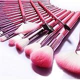 Make Up Brushes NEVSETPO 24pcs Synthetic Cosmetics Makeup Brush Set with Case...