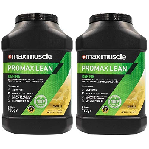 Maximuscle Promax Lean - 980g - Vanilla Twin Pack