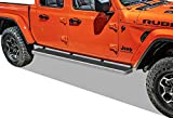 APS iBoard Running Boards (Nerf Bars Side Steps Step Bars) Compatible with 2020-2021 Jeep Gladiator Crew Cab Pickup 4-Door (Silver 6 inches)