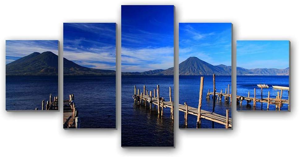 GLITZFAS PRINTS 5 Max 68% OFF Panel Wall Art Guatemala Mou Painting Recommendation - Island