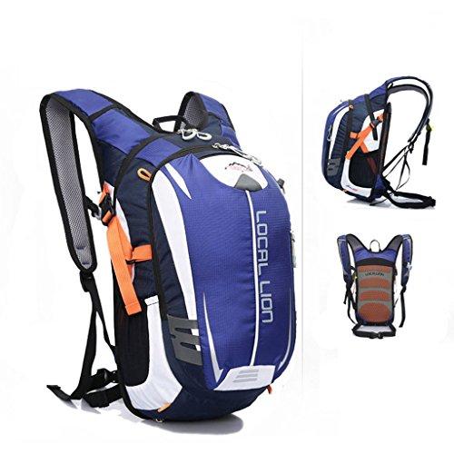 SINCERE@ Outdoor équitation sac à dos d'hydratation sac à dos petits respirants légers sacs sac de sport d'alpinisme (Bleu)