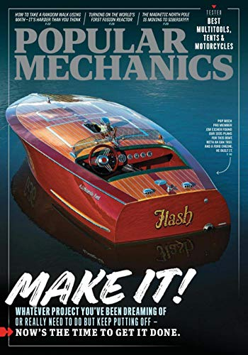 Popular Mechanics Magazine - September / October 2020 - Make It! Now's the Time to Get It Done -...