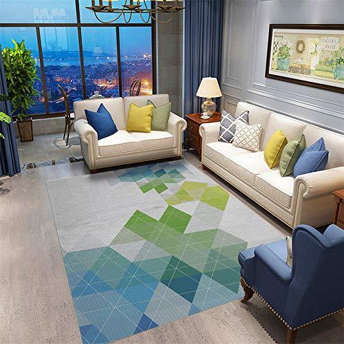 ZHAOPAI tapijt underlay zachte Koude bescherming Korte haar geometrische patroon in de deur. Voet pad woonkamer salontafel volle vloer mat slaapkamer bed rechthoekig tapijt