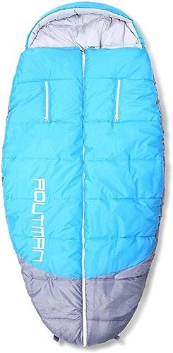 BXX Groupe familial Voyages Marchandises-Plein air Atteindre le sac de couchage Camping étanche Augmentation de la taille des équipements surdimensionnés,lac bleu