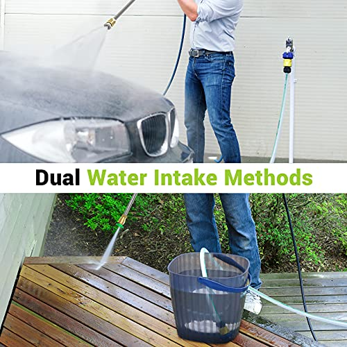 Paxcess 3000PSI Pressure Washer 1.76GPM Powerful Electric Power Washer Machine with 4 Quick Connect Nozzles, 16.9oz Foam Cannon for Cleaning Home, Cars, Driveways, Patios, Fences, Garden