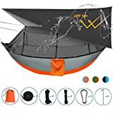 Sotech Camping Hammock Tent and Accessories, with Bug Net and Rainfly Cover (Sun Shelter UPF 50+),...