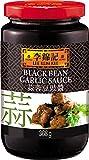 Lee Kum Kee Salsa De Alubias Negras Con Ajo 370 g - Lot de 6...