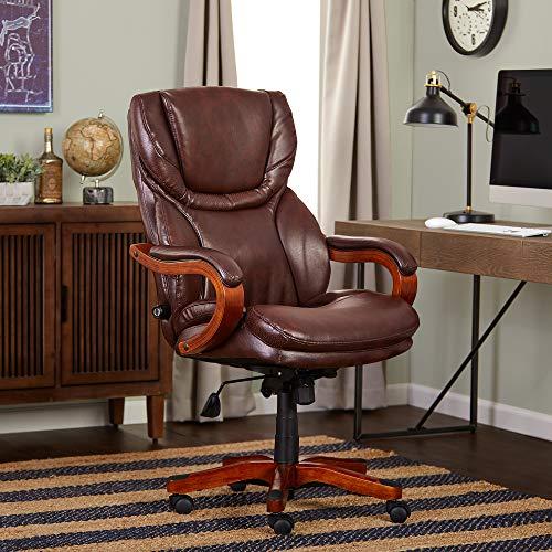 Serta Bonded Leather Big & Tall Executive Chair