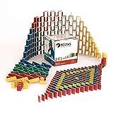 PESTAS Domino-Steine: 500 nachhaltig, ökologisch und fair produzierte Bausteine aus Birken-Holz. Durchdacht bis ins Detail, für Kinder (und Eltern) die richtig gutes Spielzeug lieben.