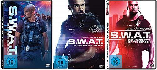 S.W.A.T. Staffel 1-3 (1+2+3, 1 bis 3) Die Serie [DVD Set]
