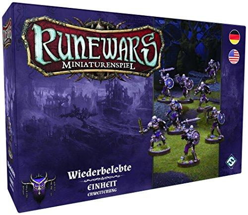 Fantasy Flight Games FFGD0130 Runewars Miniaturenspiel-Wiederbelebte Einheit Erweiterung
