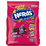 Nerds Party Size Variety Pack, Gummy Clusters, Rainbow Ropes, Original, Big Chewy, 59 Ounce