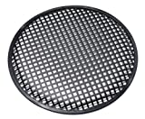 Universal 12 Inch (12') Subwoofer Speaker Metal Grill Waffle Cover Guard Pack of 2 (Pair)