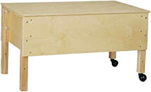Jonti-Craft Home School Daycare Kids Todder Space Saver Sensory Table Toddler