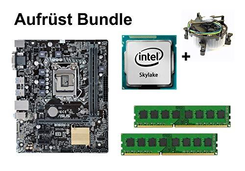 Aufrüst Bundle - ASUS B150M-K + Intel Core i5-6600K + 32GB RAM #112952