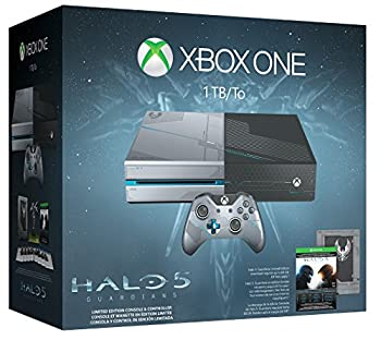 Xbox One 1TB Console - Limited Edition Halo 5  Guardians Bundle