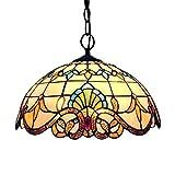 XFZ Tiffany Pendelleuchte Vintage Design Wohnzimmer Esszimmer Veranda Mediterrane...