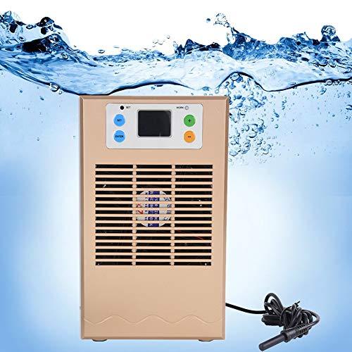Enfriador de agua del tanque de peces, Maquina de enfriamiento de agua del tanque de peces, Maquina de enfriamiento del acuario enfriador de tanque de peces para acuario 35L Usos de acuicultura(70W)