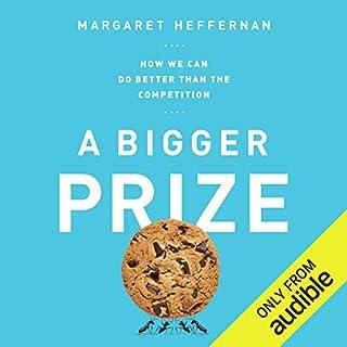 A Bigger Prize audiobook cover art