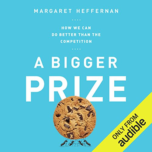 A Bigger Prize audiobook cover art