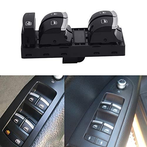 Interruptores para Automóviles Para A3 S3 A6 S6 RS6 4F2 4FH 4F5 C6 Q7 Master Power Window Control Botón 8P1 8PA Parte interior del automóvil Interruptor de palanca