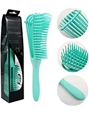 Hair Detangler Brush Curly Hair Detangling Comb Wavy Hair Texture Comb Eight Claw Comb Essential Oil Massage Comb for Women Girls