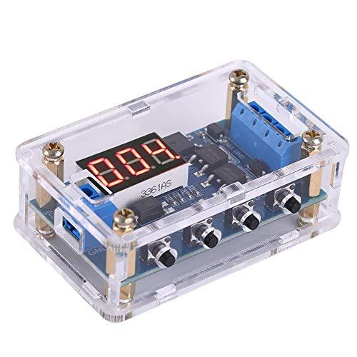 PEMENOL Timer Relais Verzögerungs DC 5V 12V 24V 36V On Off Steuerungsschalter Trigger-Zyklus Zeitschalter Relaismodul Dual MOS Digital Programmierbare für Smart Home Automatic Controller
