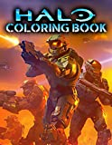 Halo Coloring Book: Fascinating Gift For Those Who Are True Fans Of Halo Game - Lots Of Exciting Coloring Designs To Discover