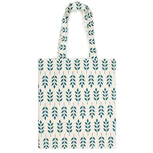 shunlidas Blätter Design Strandtaschen Baumwolle Leinen weiblich Einzelschulter Einkaufstasche Pflanze Druck Leinwand Tragetaschen