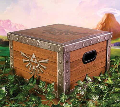 The Legend of Zelda SR72597 Aufbewahrungsbox, Mehrfarbig, 24 x 37 x 37 cm