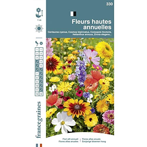 Fleur Graines - Melange Fleurs Hautes Annuel