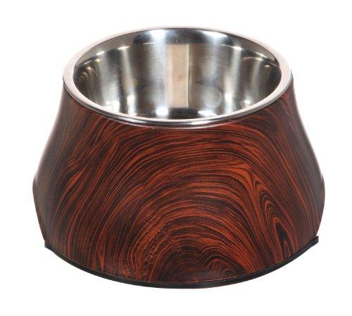 Dogit Design Melaminnapf Holzdesign
