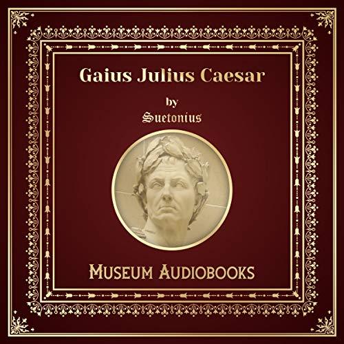 Gaius Julius Caesar audiobook cover art