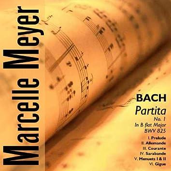 J.S.Bach - Partita No.1 in B flat Major, BWV 825