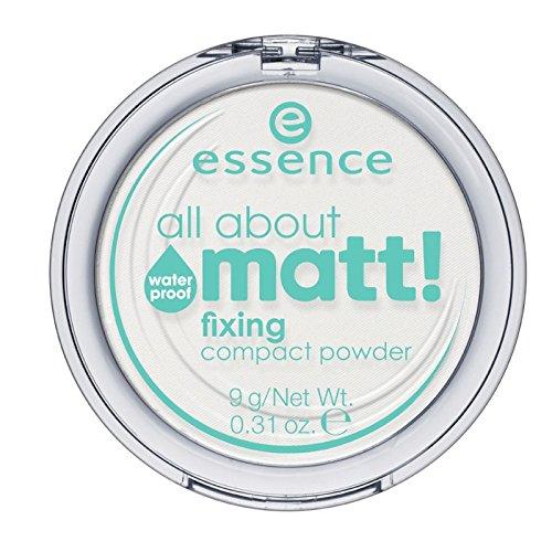 essence - all about matt! fixing compact powder waterproof