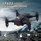 GDA Drone Pliable, caméra 2MP intégrée, télécommande avec Support Smartphone, Grande Vitesse