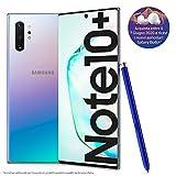 samsung galaxy note10+ smartphone, display 6.8 dynamic amoled, 256 gb espandibili, ram 12 gb, batteria 4.300 mah, 4g, dual sim, android 9 pie, [versione italiana], aura glow