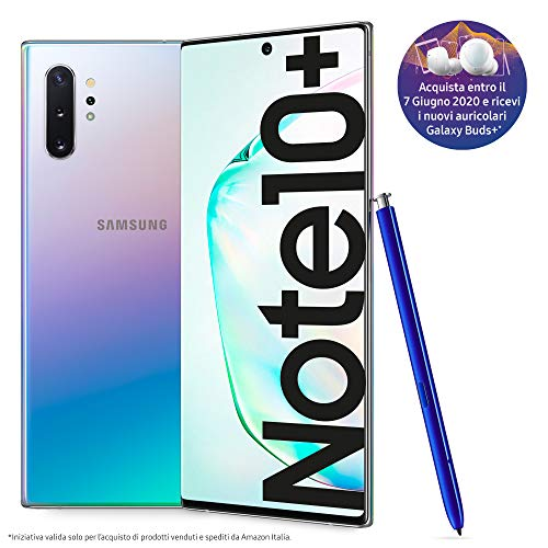 Samsung Galaxy Note10+ Smartphone, Display 6.8' Dynamic AMOLED,...