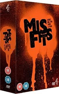 Misfits (Series 1 - 4) - 9-DVD Box Set ( Mis fits: Series One, Two, Three & Four ) [ NON-USA FORMAT, PAL, Reg.2 Import - United Kingdom ]