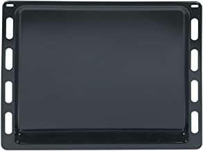 Bakplaat, taartplaat, bakplaat, pizzaplaat, 440 x 370 x 21 mm, geëmailleerd, oven, origineel Bosch Siemens 00666902 66690...