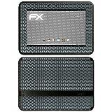 atFolix Skin kompatibel mit Amazn Kindl F¡re HD 7 1.Generation 2012, Designfolie Sticker (FX-Honeycomb-Grey), Waben-Struktur/Honigwabe