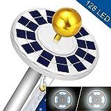 Best Flag Pole Lights - Solar Flag Pole Light,Upgraded Version 128 LED Solar Review